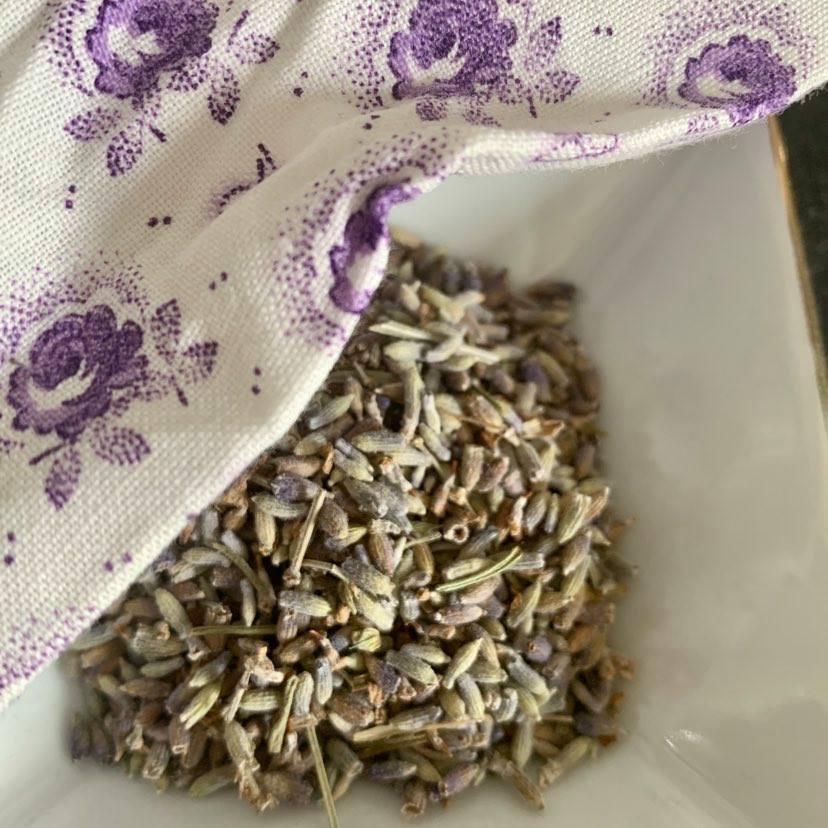 DIY Lavendelduftsäckchen