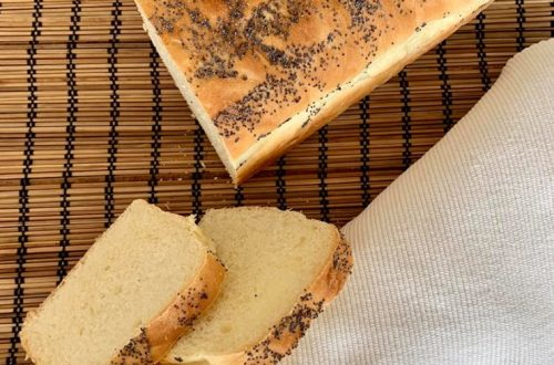 frisches leckeres Toastbrot