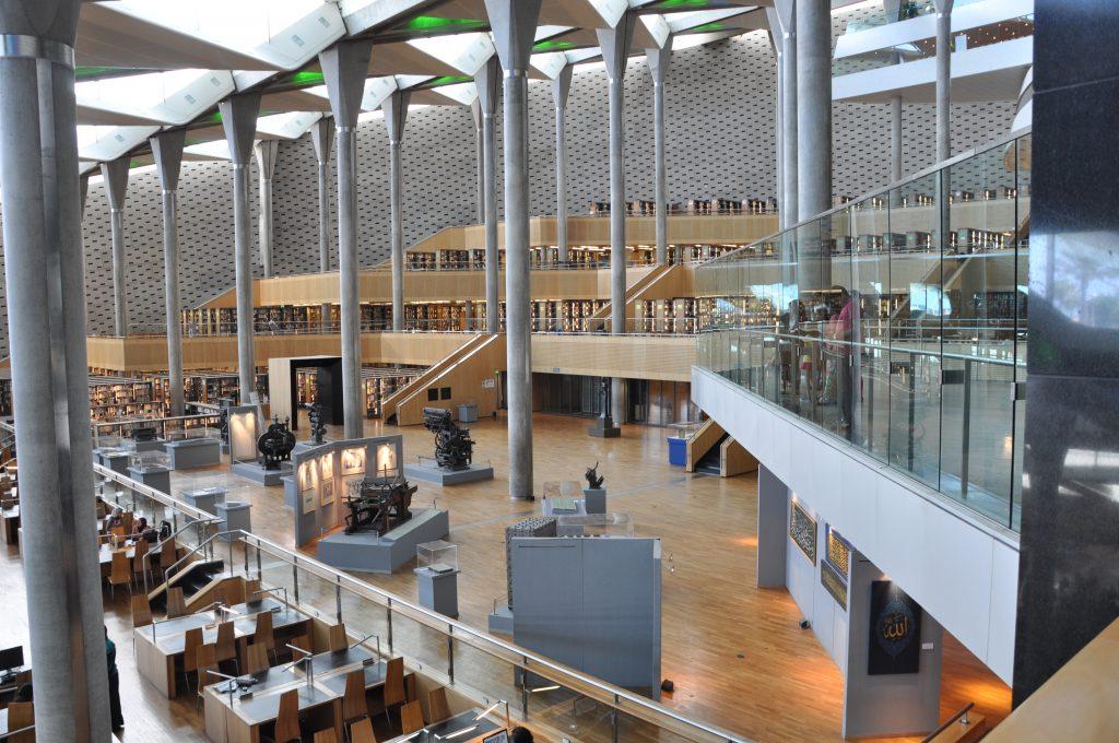 Bibliothek von Alexandria
