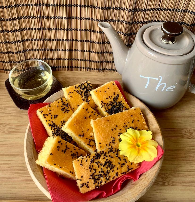 ägyptischer Maiskuchen