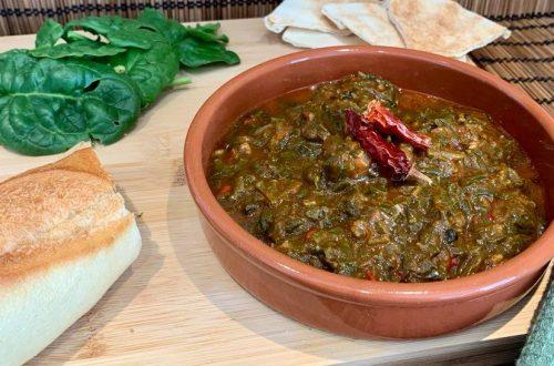Spinat auf ägyptischer Art