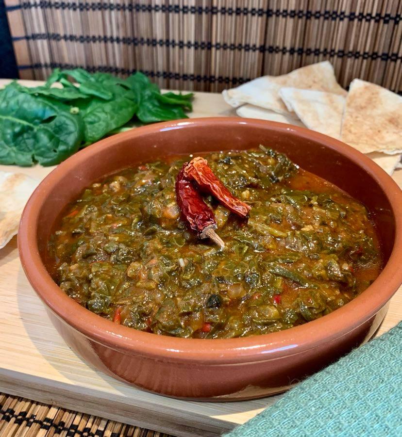 Spinat auf ägyptische Art