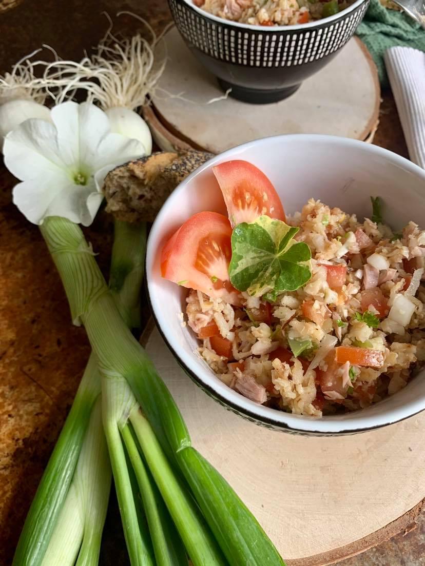 Blumenkohl Sommer Salat