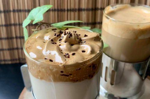 Dalgona Kaffee